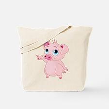 Cute Pig Tote Bag