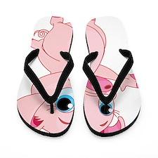 Cute Pig Flip Flops