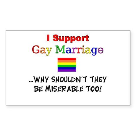 Gay Marriage Sticker