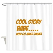 Funny Designs Shower Curtain