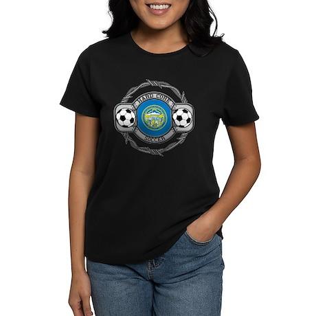 Nebraska Soccer Women's Dark T-Shirt