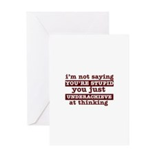 Funny Designs Greeting Card