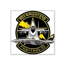 VF-33 Starfighters Rectangle Sticker