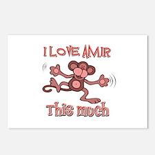 I Love Amir Postcards (Package of 8)