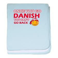 Danish smiley designs baby blanket
