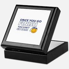 Finnish smiley designs Keepsake Box