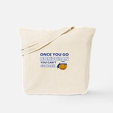 Honduran smiley designs Tote Bag