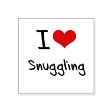 I love Snuggling Sticker