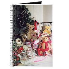 Tea time teddy bear Journal