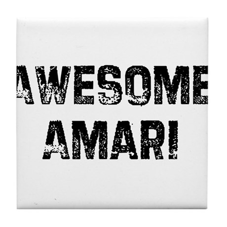 Awesome Amari Tile Coaster