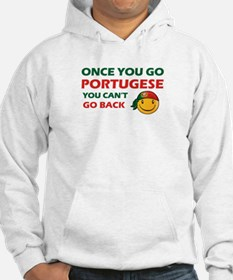 Portuguese smiley designs Jumper Hoody
