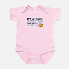 Finnish smiley designs Infant Bodysuit