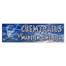 Chemtrails – Still Made in America Bumper Bumper Sticker