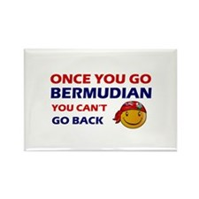 Bermudian smiley designs Rectangle Magnet