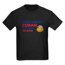 Cuban smiley designs T