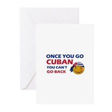 Cuban smiley designs Greeting Cards (Pk of 10)