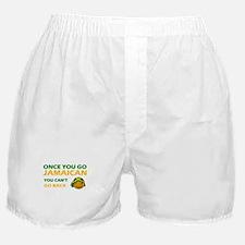 Jamaican smiley designs Boxer Shorts