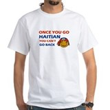 Haiti Mens White T-shirts