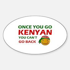 Kenyan smiley designs Decal