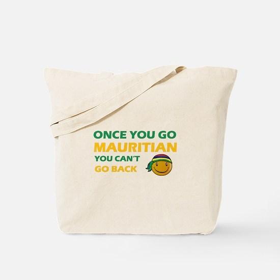 Mauritian smiley designs Tote Bag