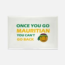Mauritian smiley designs Rectangle Magnet