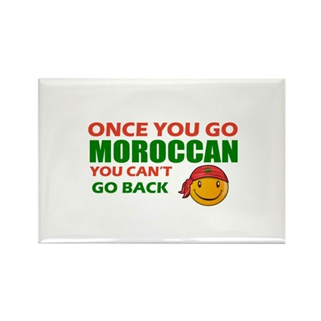 Moroccan smiley designs Rectangle Magnet (10 pack)