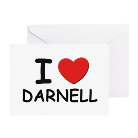 I love Darnell Greeting Cards (Pk of 10)