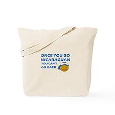 Nicaraguan smiley designs Tote Bag
