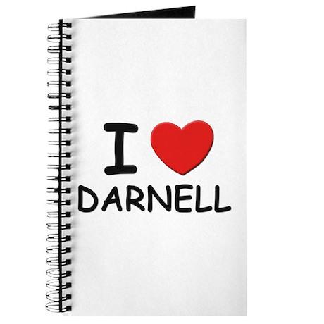 I love Darnell Journal