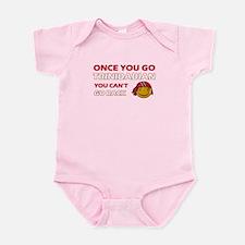 Paraguayan smiley designs Infant Bodysuit