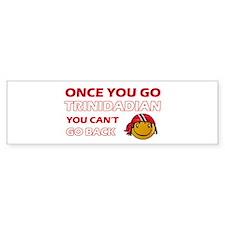 Paraguayan smiley designs Bumper Sticker