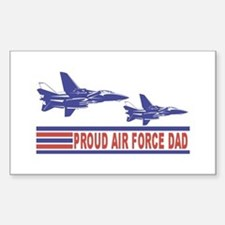 Proud Air Force Dad Vinyl Decal