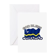 Patriotic Curacao designs Greeting Card