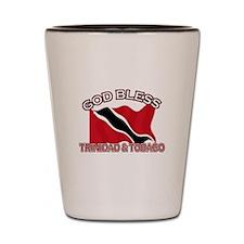 Patriotic Trinidad & Tobaco designs Shot Glass
