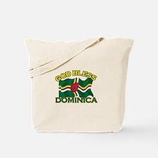 Patriotic Dominica designs Tote Bag