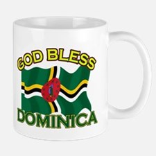 Patriotic Dominica designs Mug