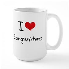 I love Songwriters Mug