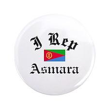 "I rep Asmara 3.5"" Button"