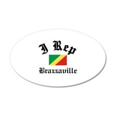 I rep Brazzaville Wall Decal
