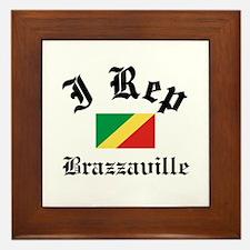 I rep Brazzaville Framed Tile