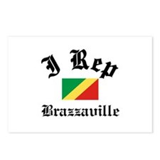 I rep Brazzaville Postcards (Package of 8)