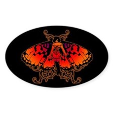 Butterfly Woman Decal