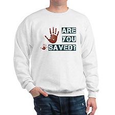 Cute Jesus saves Sweatshirt