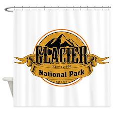 glacier 4 Shower Curtain