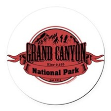 grand canyon 2 Round Car Magnet