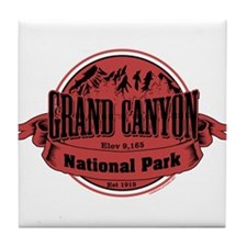 grand canyon 2 Tile Coaster