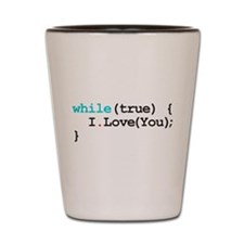 Programming Quote Shot Glass