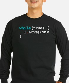 Programming Quote Long Sleeve T-Shirt