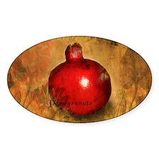 Botanical Pomegranate Decal