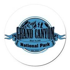 grand canyon 1 Round Car Magnet